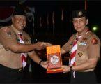 Polres Mimika Mile 32 Buka LombaPramuka Saka Bhayangkara (Lokabhara) Papua ke-2 Tahun 2018