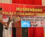 Kapolda Buka Musrenbang Polda Papua Barat Tahun 2018