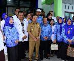 Bupati dan Wakil Bupati Tapteng Resmikan Puskesmas Desa Sijungkang Andamdewi