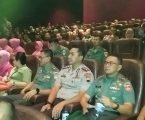 TNI-Polri Banyumas, Nobar Film 22 Menit