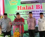 Anggota DPRD Kota Medan Halal Bi Halal, Henry Jhon Sebut Tiga Nama Calon DPR RI