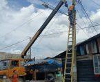 Warga Belawan Ngaduh, DPRD Kota Medan Respon Kasus Tiang Listrik Nyaris Roboh