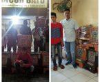 Pegasus Polsek Pancur Batu Amankan Mesin Jackpot di Dusun Gelunggung