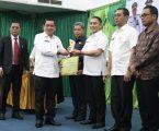 Wali Kota Medan Terima Anugerah Keterbukaan Infomasi