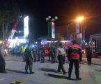 Mantapkan Kondusifitas kabupaten Jember Polres Bersama Kodim 0824 Patroli Bersama