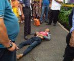 Petugas Jaga Malam Ditemukan Warga Sudah Tidak Bernyawa Lagi di Jalan Letda Sujono Gang Nangka