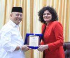 Wali Kota Terima Audiensi International Organizational For Migration