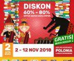 Wow..! Peringati Hari Pahlawan, Big Bad Wolf Hadir Di Kota Medan Tawarkan Discount Funtastic Buku Impor