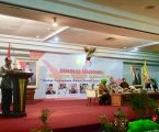 Firman Jaya Daeli Menyampaikan Pemikiran Sebagai Pembicara Kongres Nasional Pada Seminar (PERMAHI)