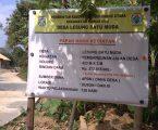 Pembagunan DD Infrastruktur Jalan Desa di Lesung Batu Perlu di Awasi
