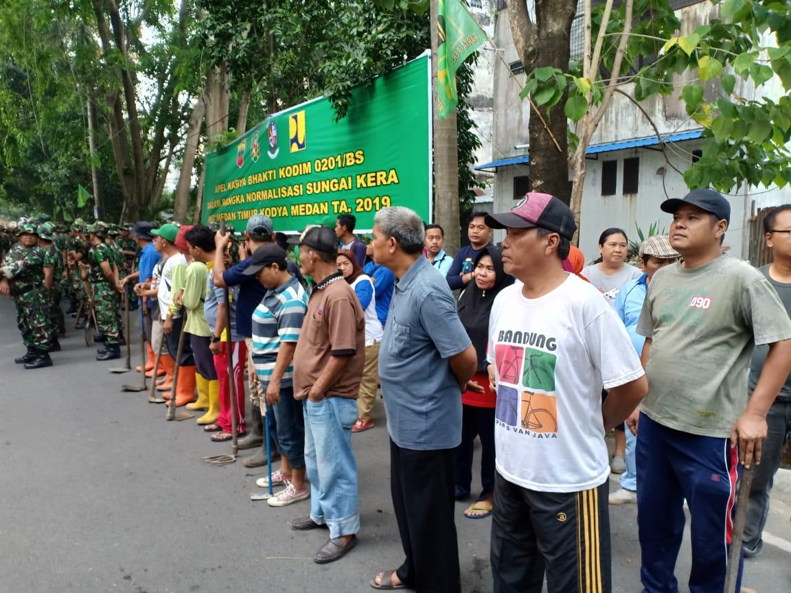 Danramil 13/PST Kodim 0201/BS Komsos Bersama Muspika dan PPK Kecamatan Percut Sei Tuan