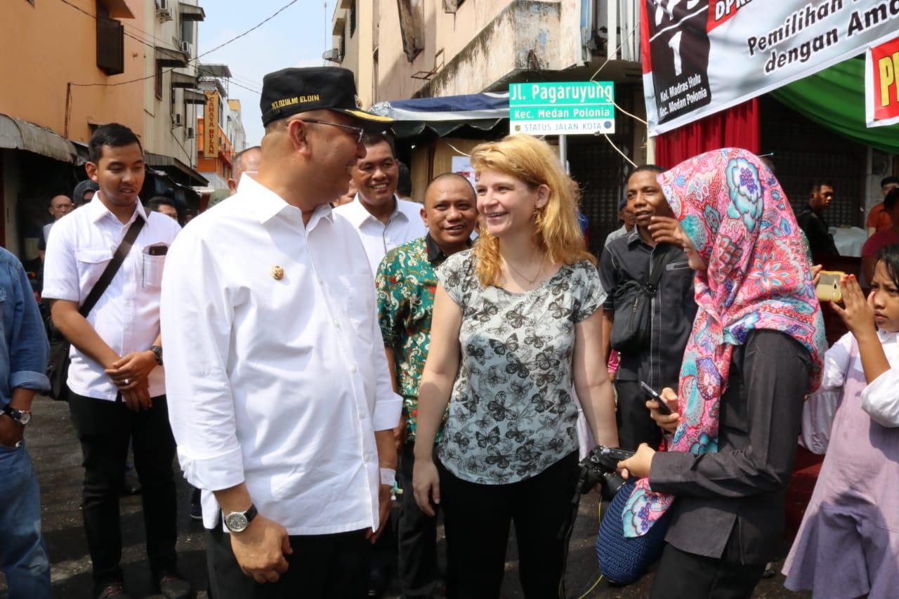 Wali Kota Tinjau 14 TPS di 3 Kecamatan Medan