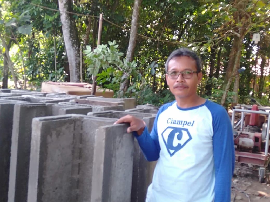 Di Fokuskan Desa Wisata, Kades Sanam Siap Bangun Infrastruktur  Jembatan