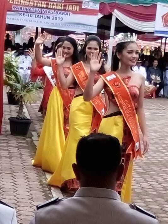 Grand Final Pemilihan Putri Pariwisata Kabupaten Nias Barat Firal di Sosial Media
