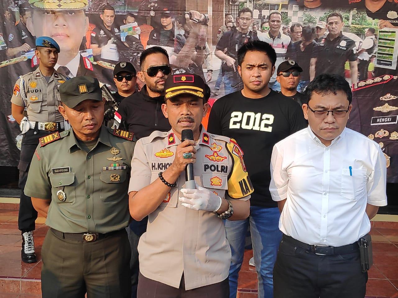 Polsek Cengkareng   Tangkap Pelaku Penganiaya anggota TNI dari kesatuan Kostrad Kopral Dua Heri Triyanto