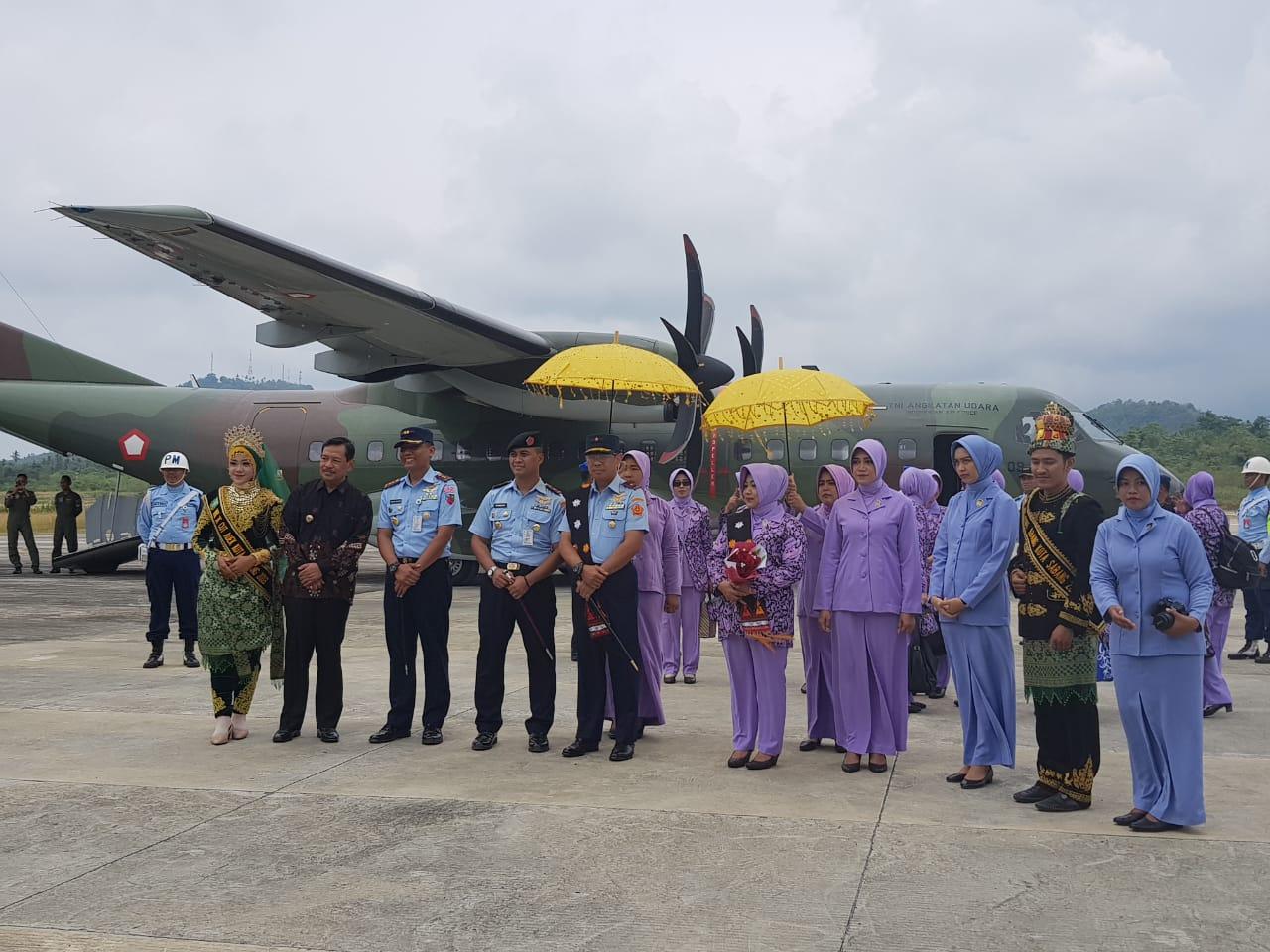 Pangkosek Hanudnas III Marsekal Pertama TNI.Djohn Amarul, Kuker ke Satrad 233 Sabang