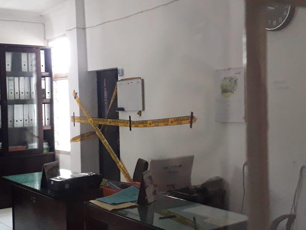 Pasca Penggeledahan Tim Tipikor Poldasu, Sekretariat dan Ruangan Kantor BPKD Siantar Tampak Sepi Tanpa Aktivitas