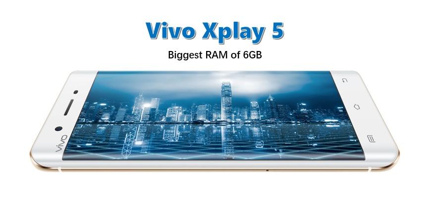 Smartphone Berkualitas Tinggi Vivo Xplay5 Elite dengan RAM 6GB