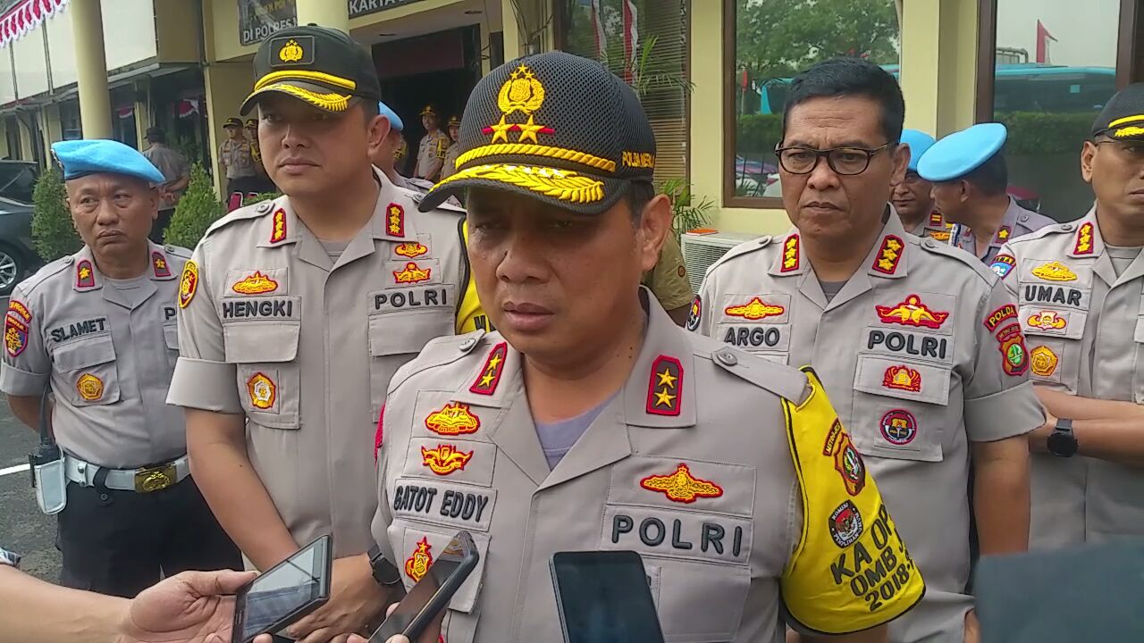 Polres Metro Jakarta Barat Mendapat Kunjungan Dari Kapolda Metro Jaya