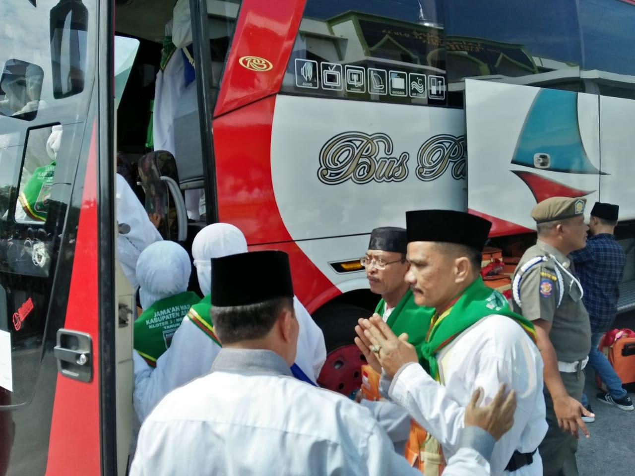 26 Agustus, Diperkirakan Jamaah Haji Asahan Tiba