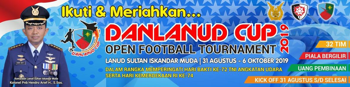 32 Tim Ramaikan Danlanud Sultan Iskandar Muda Cup 2019