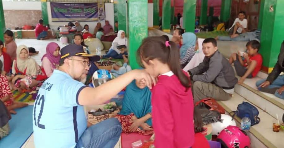 Dinsos Jakarta Siapkan Tiga Tenda Bagi Pengungsi