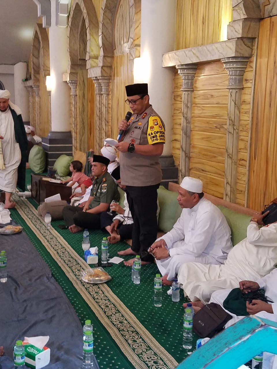 Kapolda Metro Jaya, Irjen Pol Drs Gatot Eddy SIK.,MSi : HABIB JINDAN DAN HABAIT YANG LAIN NYA ADALAH GURU SAYA