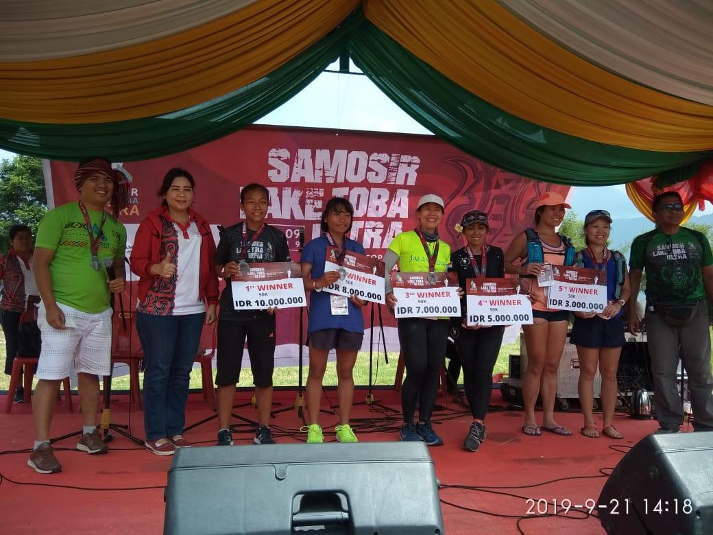 Pemkab Samosir Melalui Dinas Pariwisata Samosir Gelar Ultra Marathon