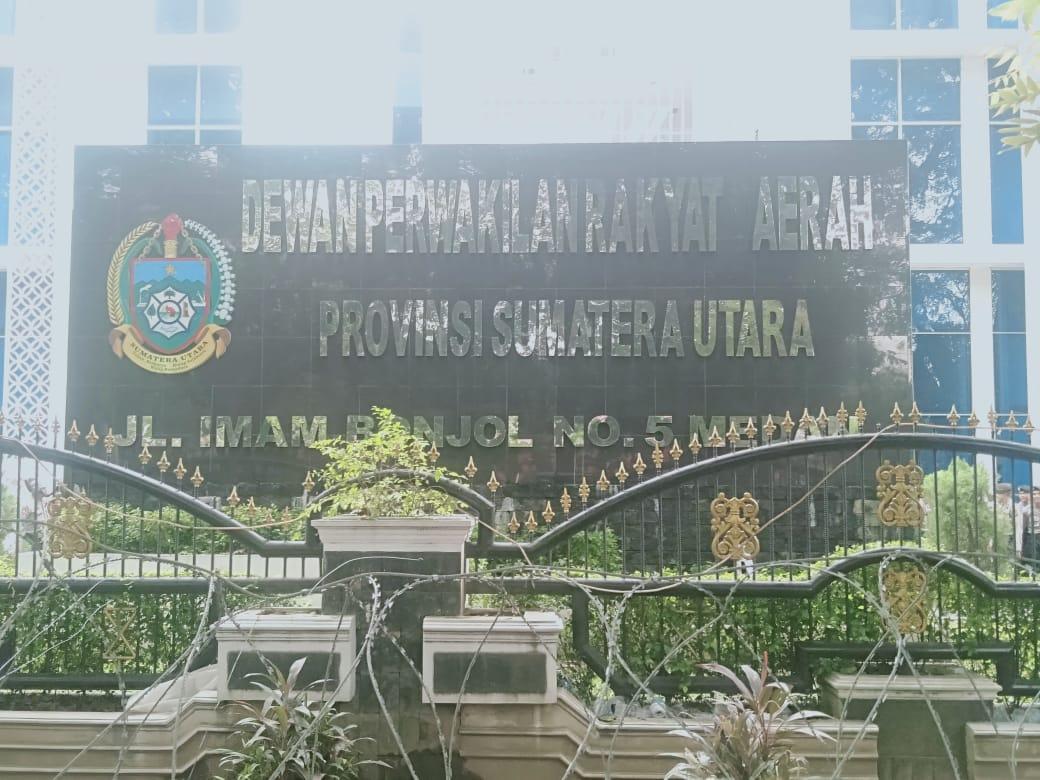 Anggota DPRD SUMUT Absen Pasca Demo Besar