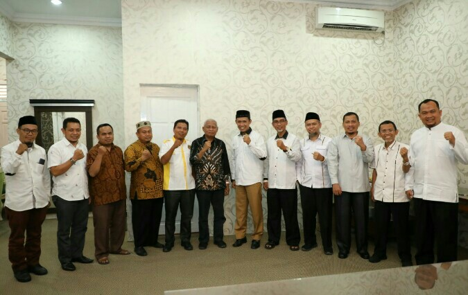 DPW PKS Sumut dan DPD Asahan Silaturahmi Ke Bupati Asahan