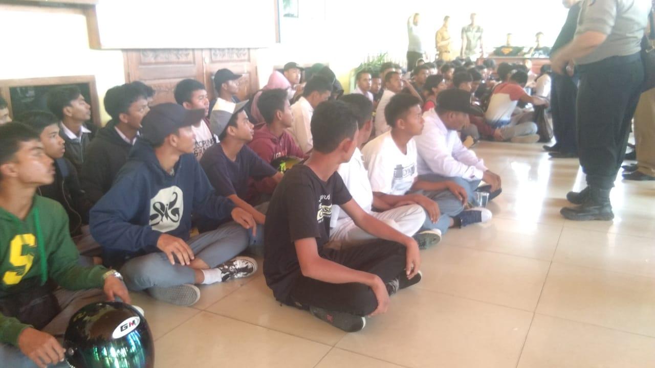 Ribuan Mahasiswa BABEL Gelar Aksi Damai, Minta Revisi UU KPK dan Revisi KUHP di Batalkan