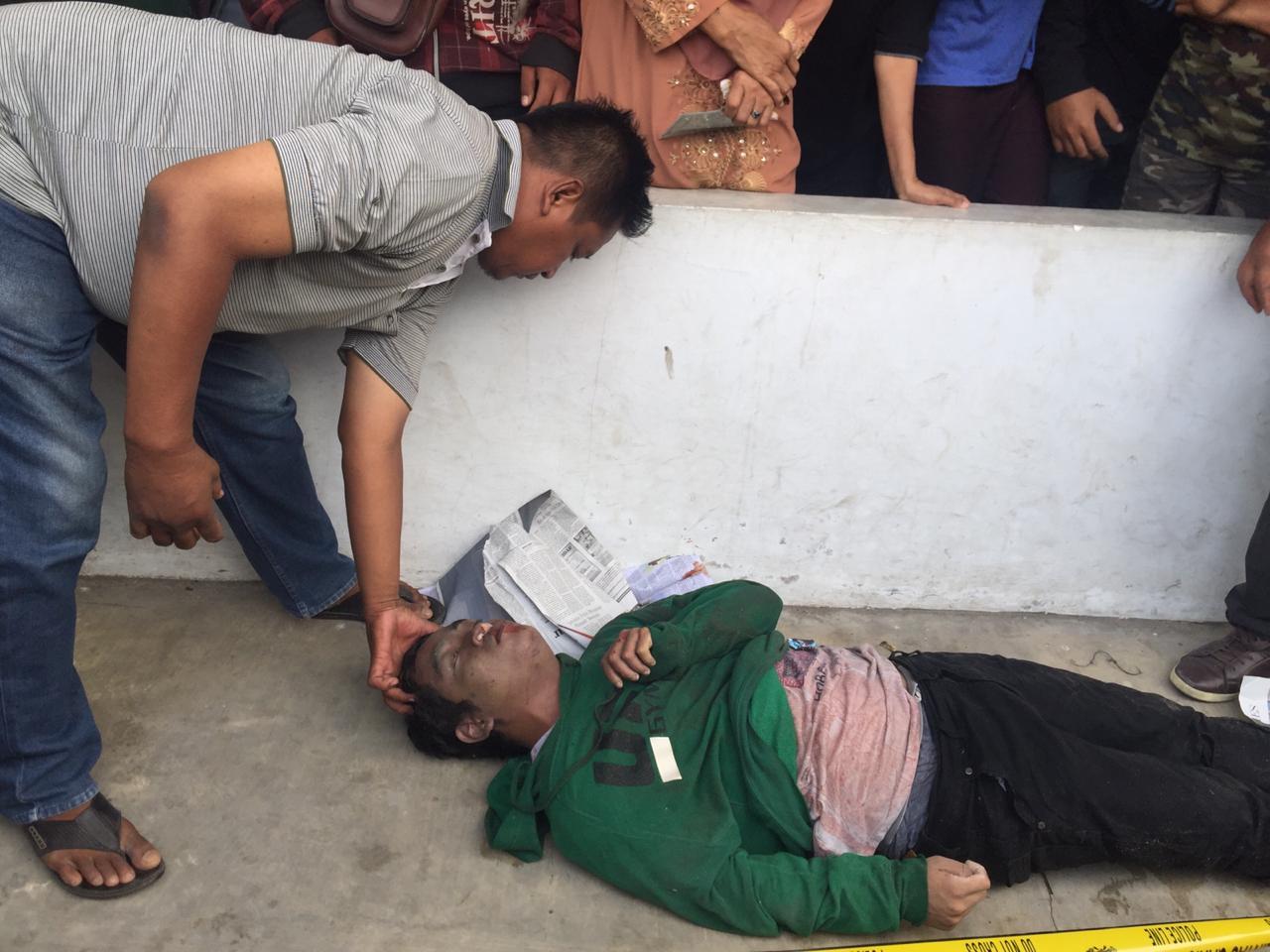 Diduga Sakit Ayan, Bungsu Ditemukan Tewas di Gang Pancasila, Tembung