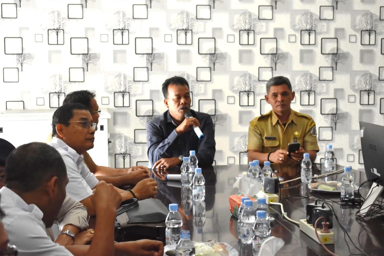 Komisioner Komisi Informasi Provsu Lakukan Visitasi ke Pemkab Tapanuli Tengah
