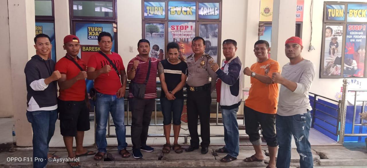 Rampas Kalung Emas IRT, Seorang Begal di Ringkus Tim Gurita Polres Tanjung Balai