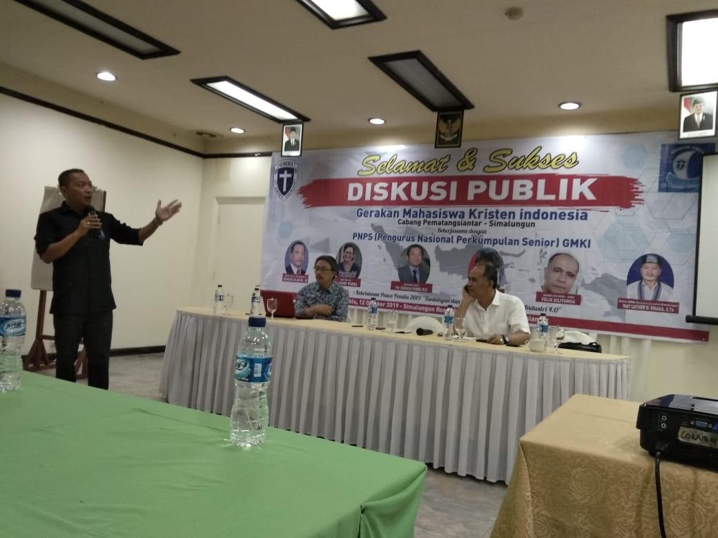 GMKI Pematangsiantar-Simalungun Bersama PNPS GMKI Gelar Diskusi Publik