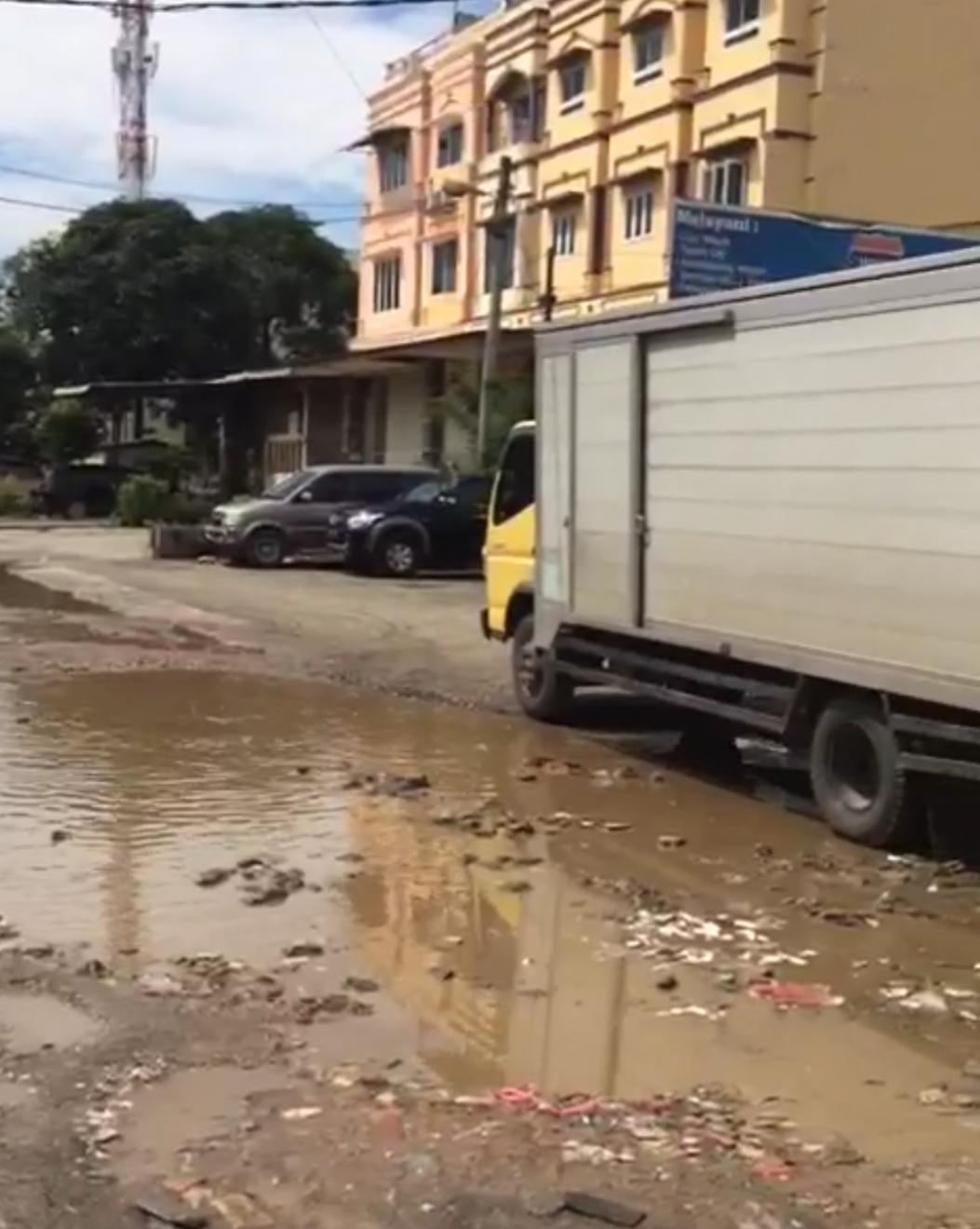 Hancur dan Berlobang, DPRD Medan Minta Pemko Perbaiki Jalan Madios, Jalan Negara dan Jalan GB.Josua