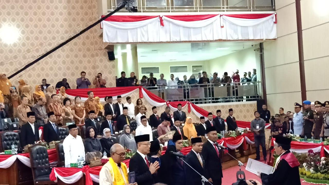 Ketua Pengadilan Negeri Medan Kukuhkan Pimpinan DPRD Kota Medan Periode 2019 – 2024
