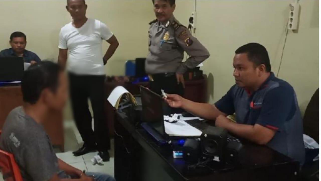 Pengedar Narkoba Jenis Sabu di Tangkap di Padangsidimpuan, Tersangka Mengaku Dapat Narkoba Dari Lapas Klas IIA Sibolga