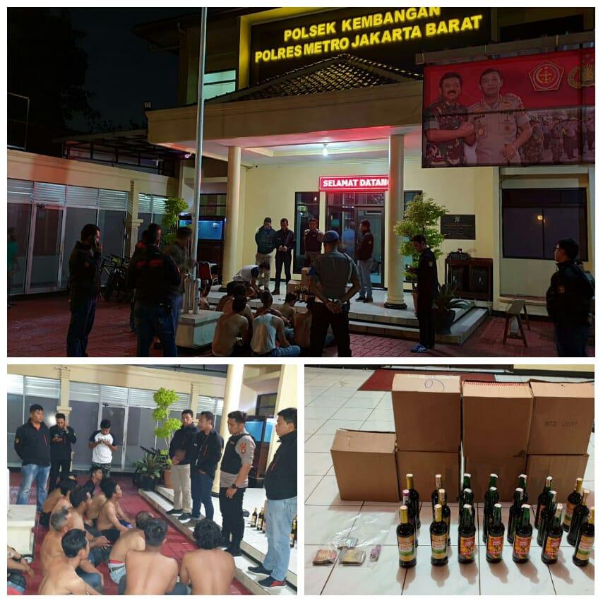 Polsek Tanjung Duren Melakukan Operasi Premanisme