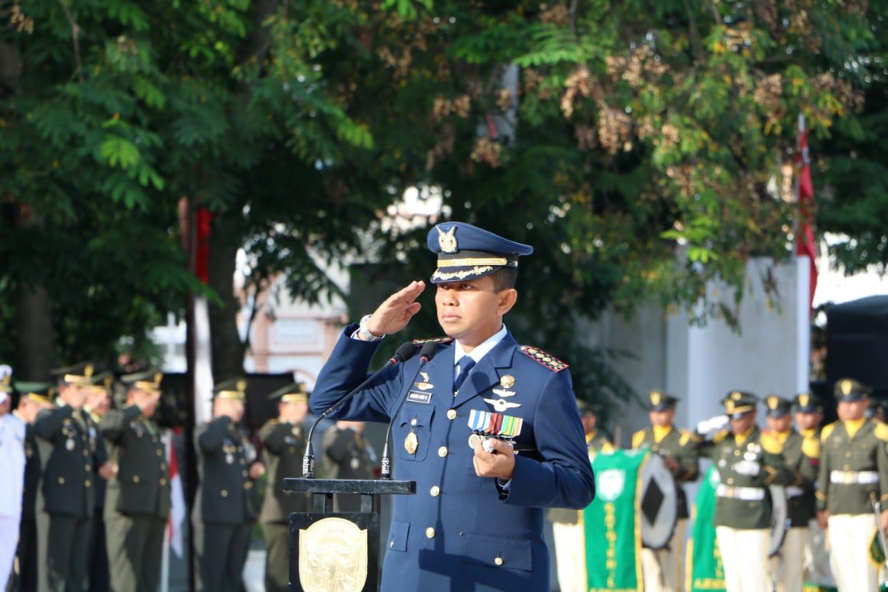 Danlanud SIM, Kolonel Pnb Hendro Arif Pimpin Ziarah Nasional