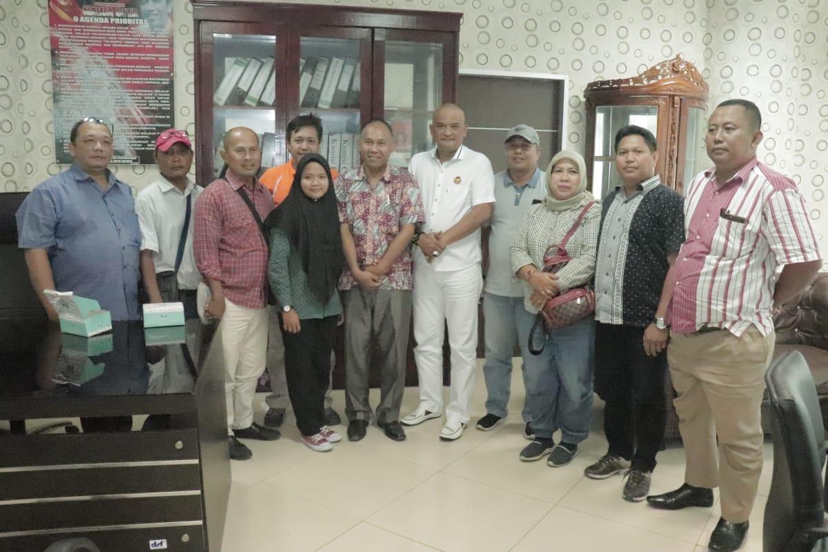 FPDIP DPRD Medan Siap Bersinergi Dengan Media Dalam Penyerapan Informasi