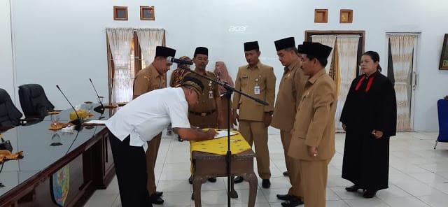 Bupati Batu Bara Zahir Lantik Pejabat Administrator Eselon III
