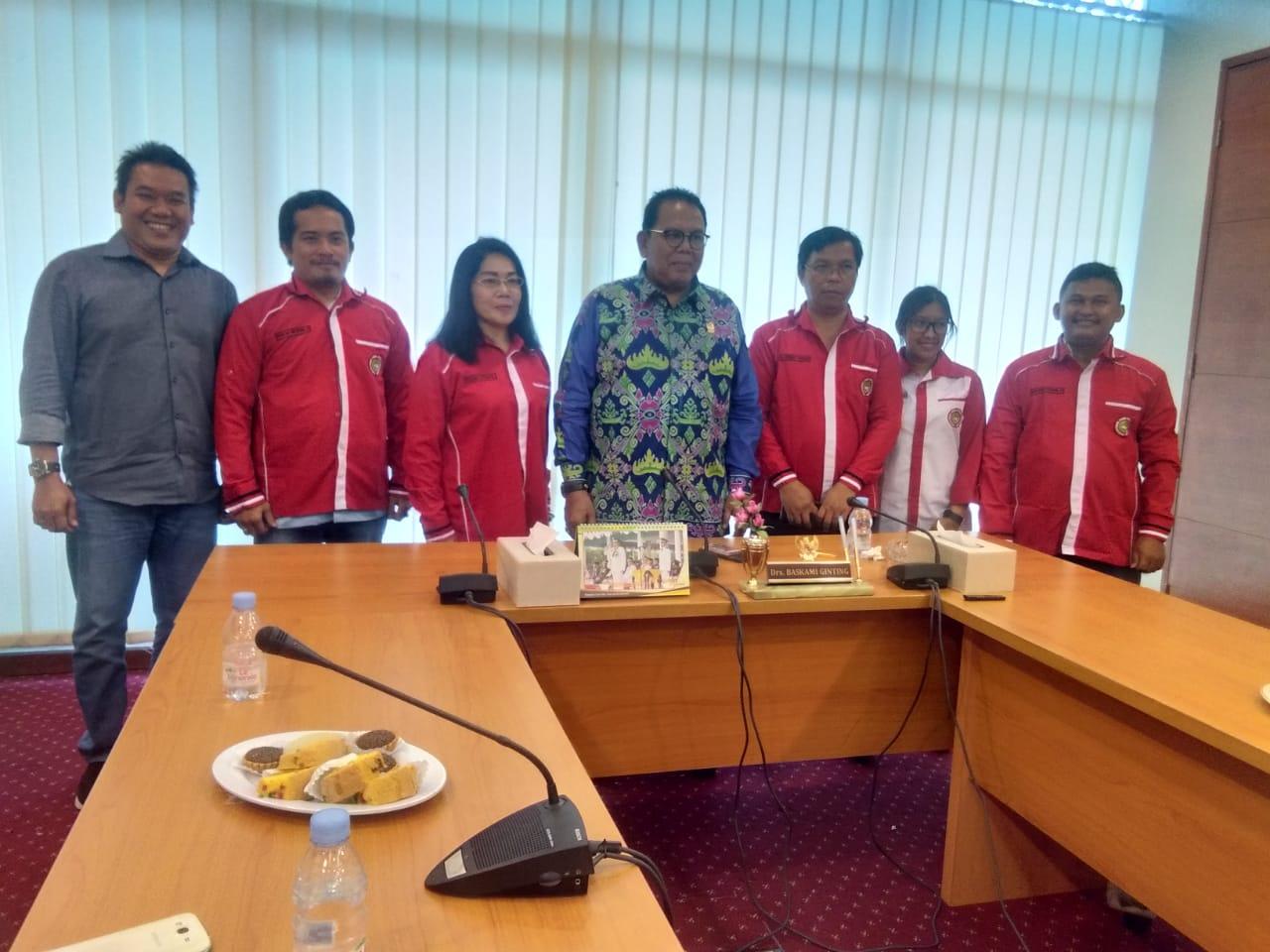 Ketua DPRD Sumut Menerima Audiensi Pengurus DPD KPBB Kota Medan