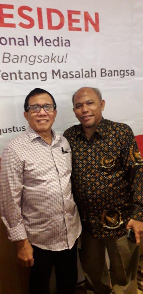Ketua SMSI Sumut: Ir.Zulfikar Tanjung,  Wartawan Meliput Musibah Corona Virus Layak Diberi Insentif