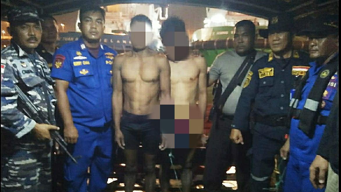Patroli Keamanan Laut Lantamal I, Ringkus 2 Maling Dikapal Yang Sandar