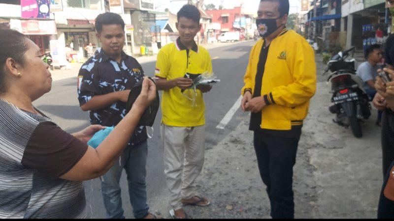 DPD AMPI dan SATMA AMPI Kabupaten Simalungun Aksi peduli pencegahan Covid 19