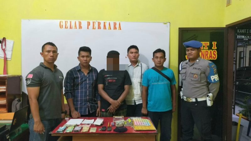 Sat Reskrim Polres Tapteng Gulung Jurtul KIM dari Kecamatan Kolang