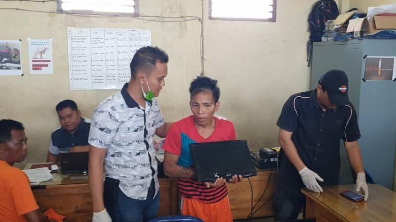 Bobol Bank BRI Martubung, Warga Pasar Yuka Dipelor Satreskrim Polres Belawan