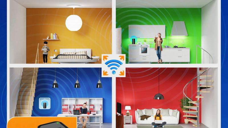 First Media Luncurkan SUPER WiFi, BYE-BYE DEAD ZONE!  Semakin Lancar Berinternetan di Seluruh Area Rumah