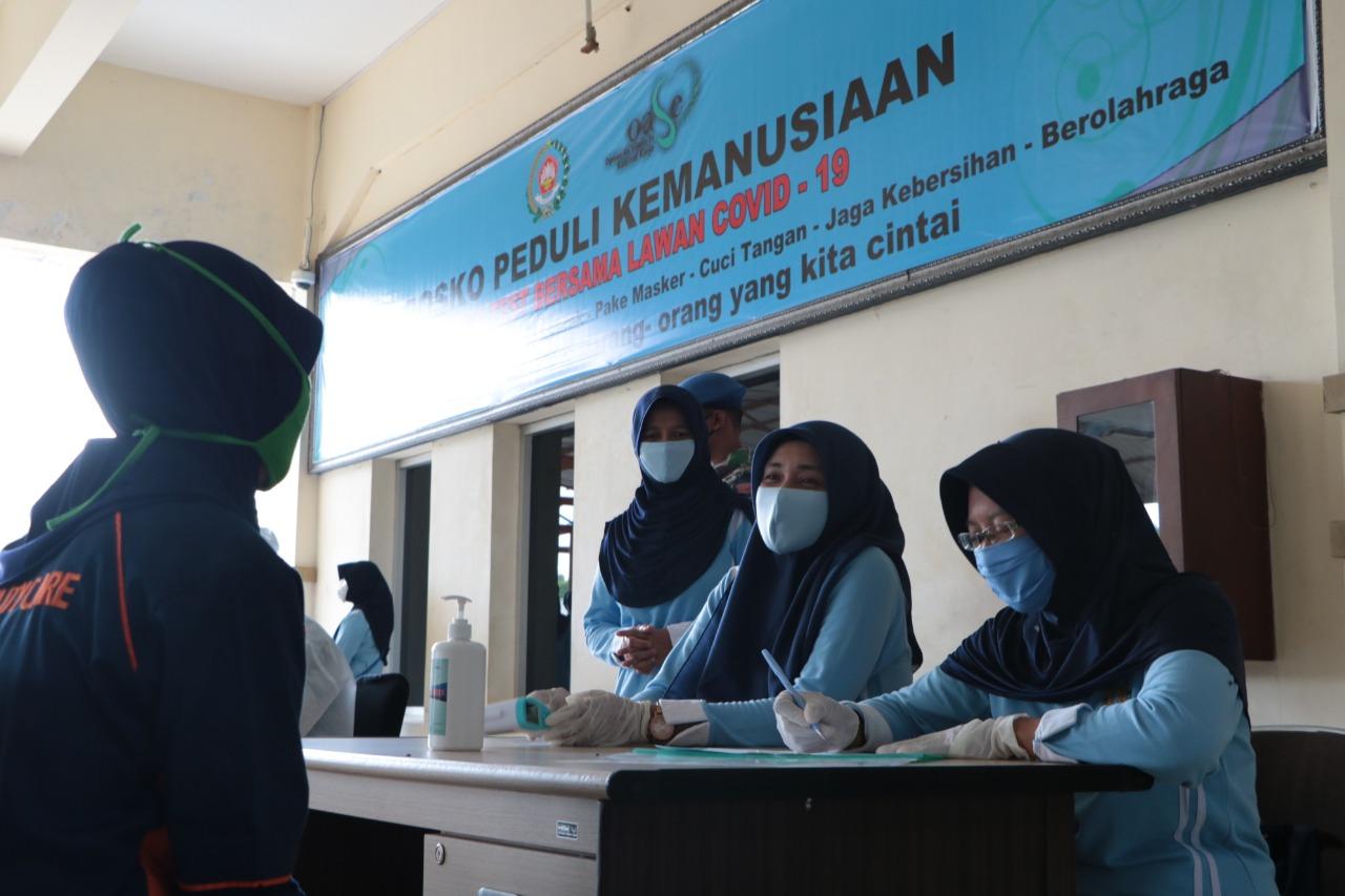 Dharma Pertiwi Daerah  R Buka Posko Peduli Kemanusiaan di Bandara SIM